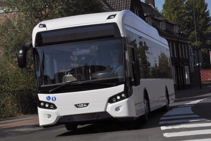 Een VDL-bus voor openbaar vervoer.