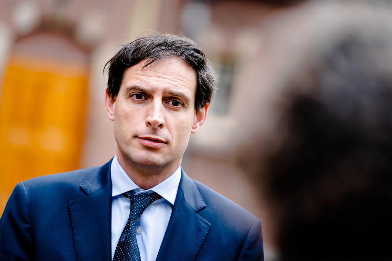 De Nederlandse minister Wopke Hoekstra stond eerder diametraal tegenover zijn  EU-collega's. Beeld ANP