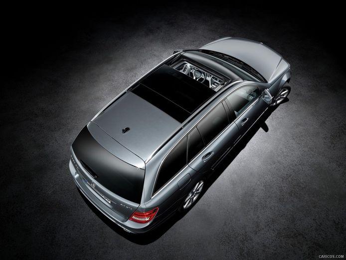 Mercedes-Benz met schuifdak