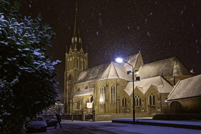 De Sint-Jacobus de Meerderekerk in Den Dungen.