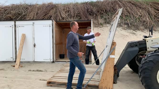 Strandkotjes mogen weer gebruikt worden