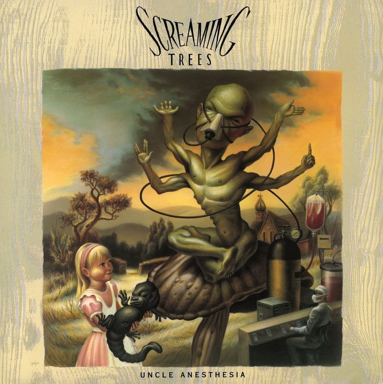 4. The Screaming Trees: Uncle Anesthesia. Ontwerp Mark Ryden. Beeld .