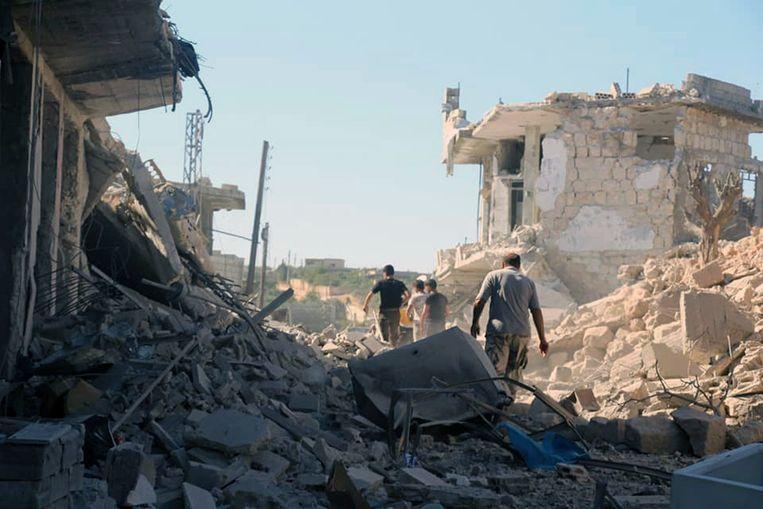 Sinds de start van het luchtoffensief in april zijn in de regio van Idlib al minstens 900 burgers gedood.