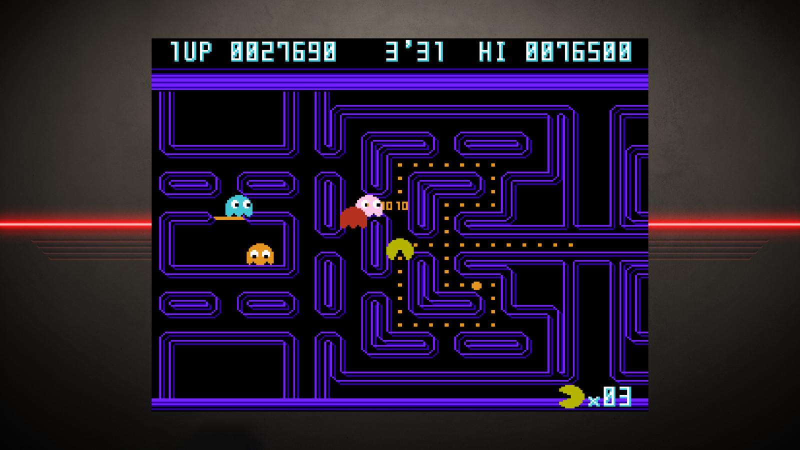 Pac-Man Championship Edition.