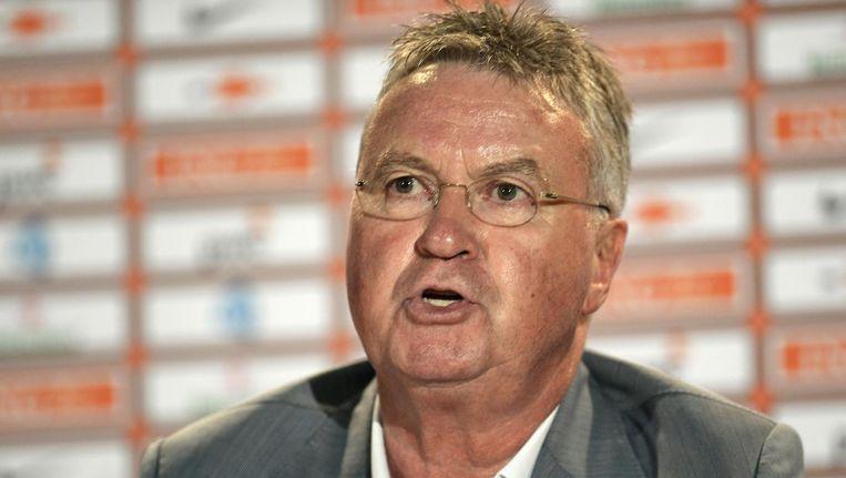 Bondscoach Guus Hiddink. Beeld reuters
