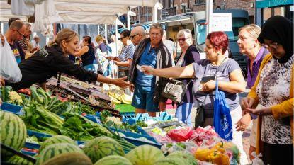 Woensdagmarkt schuift enkele straten op