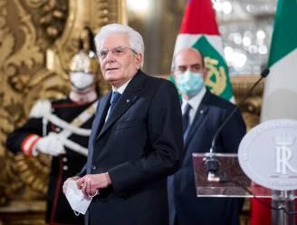 President Italië wil gebroken regeringscoalitie lijmen