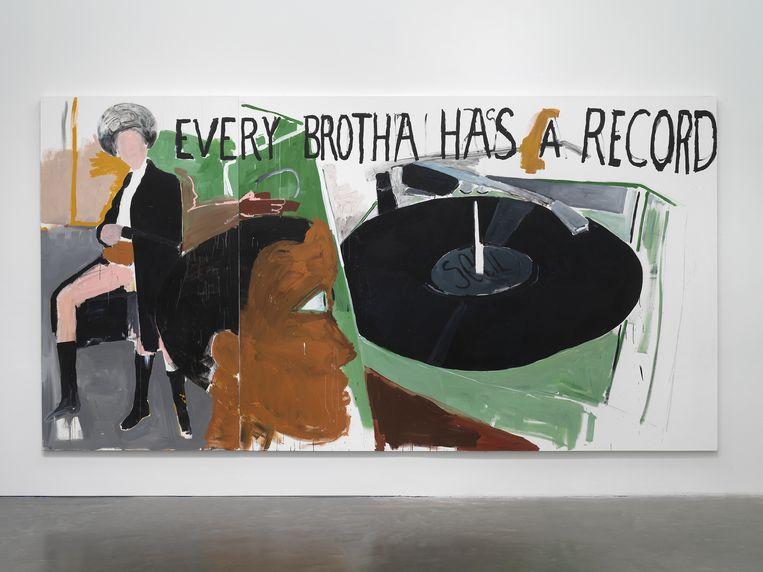 Henry Taylor,  'Untitled', 2020   Beeld Dario Lasagni
