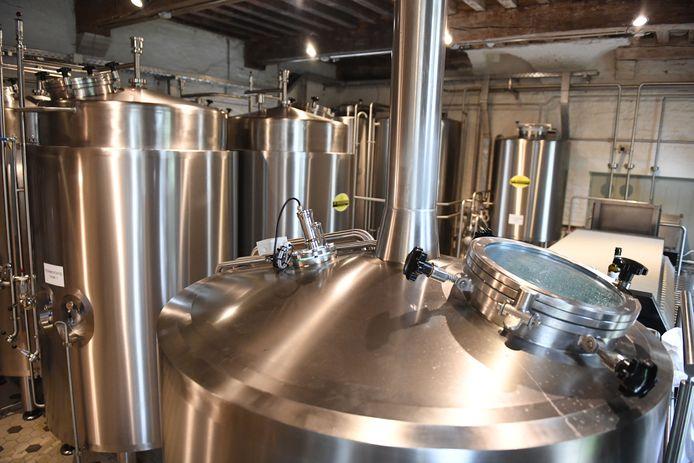 De nieuwe brouwerij Braxatorium Parcensis.