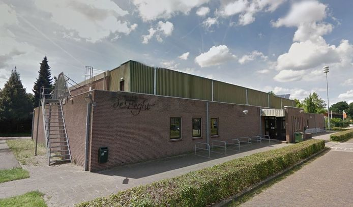 Sporthal de Eeght in Schaijk.