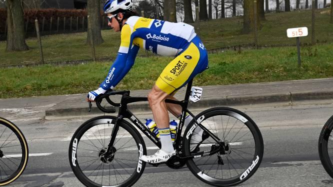 """Cedric Beullens opent knap in de Omloop: """"Dit resultaat is bemoedigend voor de toekomst"""""""