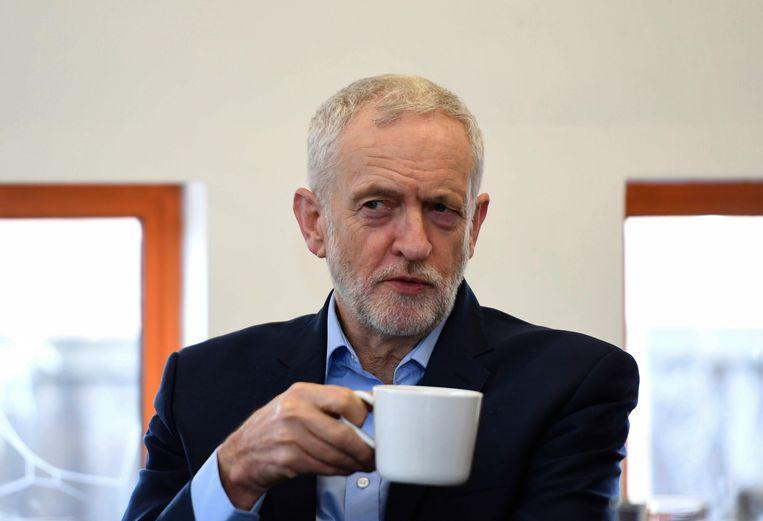 Oppositieleider Jeremy Corbyn. Beeld AP