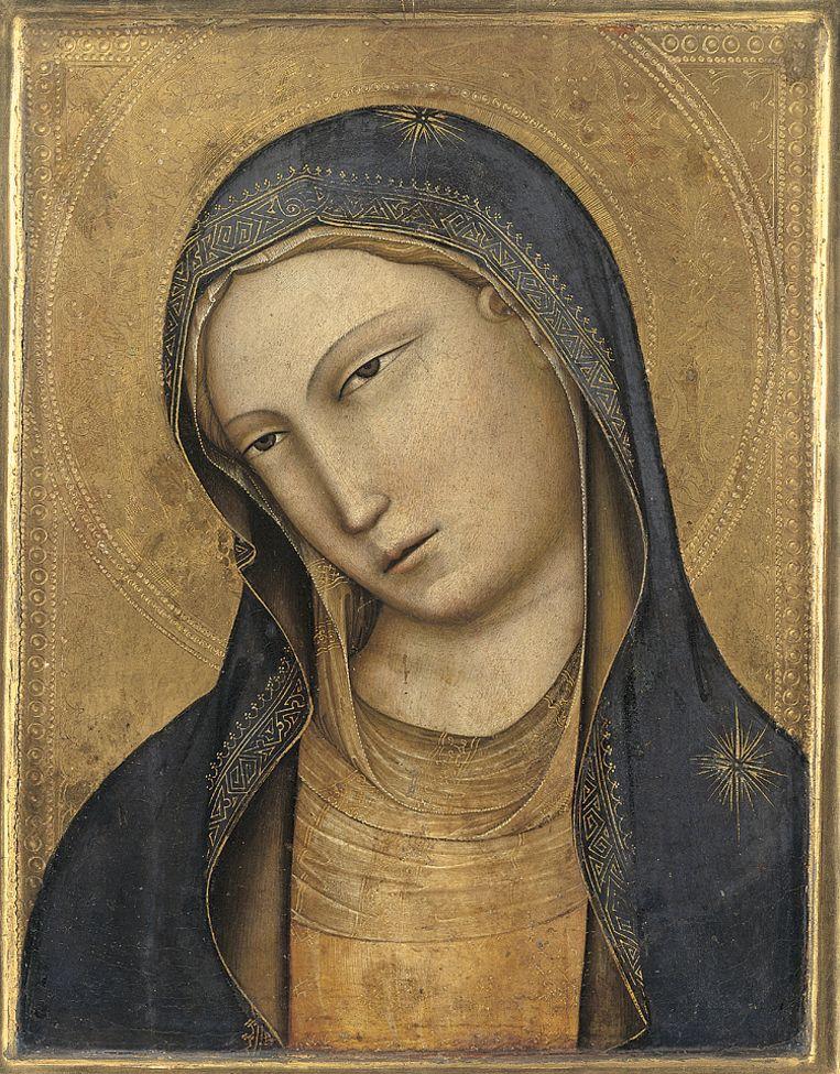Het 14de-eeuwse werk Gelaat van de Madonna van Lorenzo Monaco. Beeld Rijksmuseum