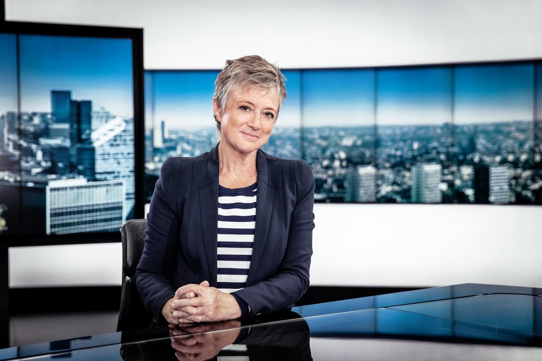 Martine Tanghe. Beeld VRT