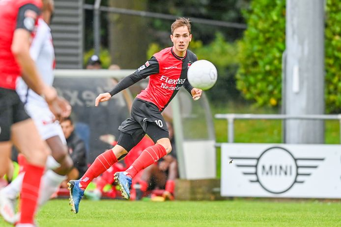 Bram Zwanen in actie voor De Treffers.