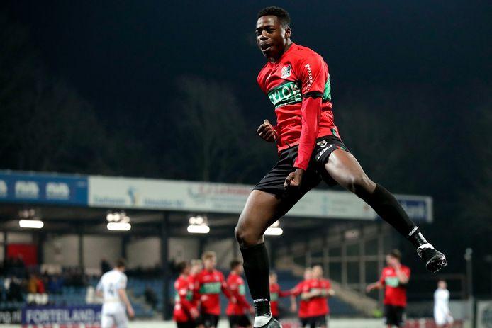 Anthony Musaba levert NEC 2,5 miljoen euro op.