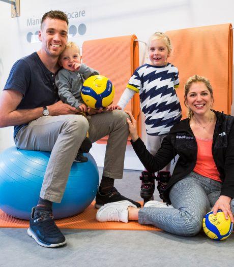 Sjoerd Hoogendoorn en het volleybalpensioen: 'Nu is het tijd voor mijn vrouw en kinderen'
