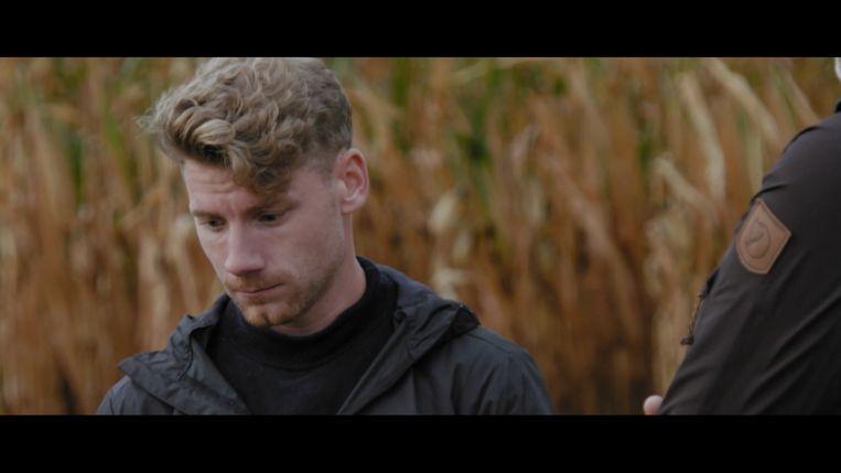 Net iets meer dan een miljoen mensen zagen hoe Jens dan toch niet mocht deelnemen aan 'De mol'. Beeld Play4
