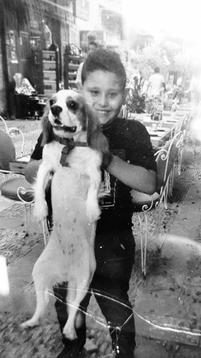 Daniël (9), het jongentje dat afgelopen week dood aangetroffen werd in het asielcentrum van Broechem. Beeld RV