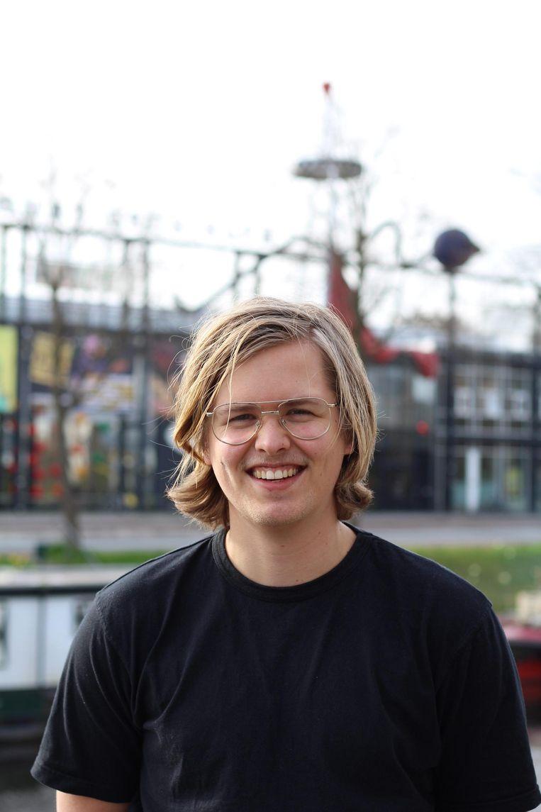 Tjesse Riemersma, student filosofie RUG. Beeld