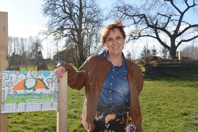 Wendy Wauters, de nieuwe directeur van basisschool De Krekel in Haaltert.