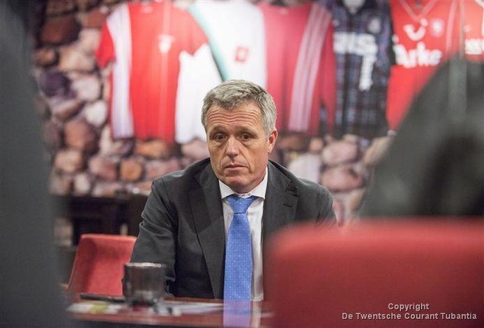 FC Twente-directeur Onno Jacobs.