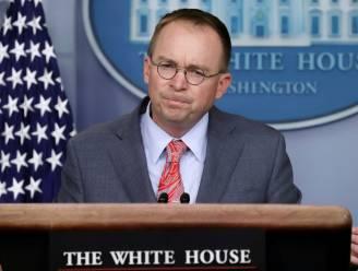 Witte Huis erkent dat het steun voor Oekraïne tegenhield om onderzoek naar Democraten af te dwingen