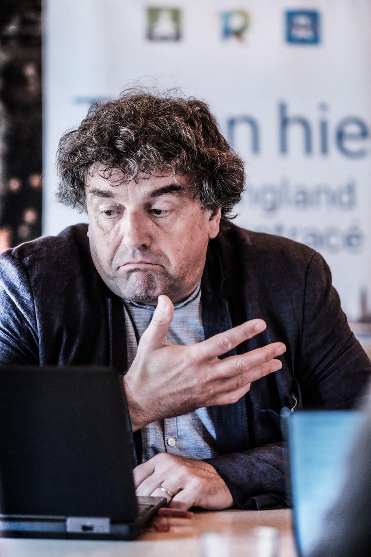Peter Vermeulen. Beeld Bob Van Mol