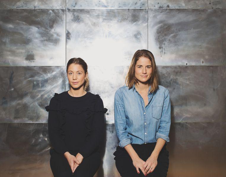 Marie Libeert en Valérie Vanerme.  Beeld rv