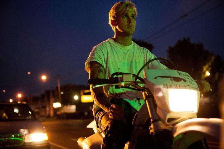 Ryan Gosling in The Place Beyond the Pines van Derek Cianfrance. Beeld