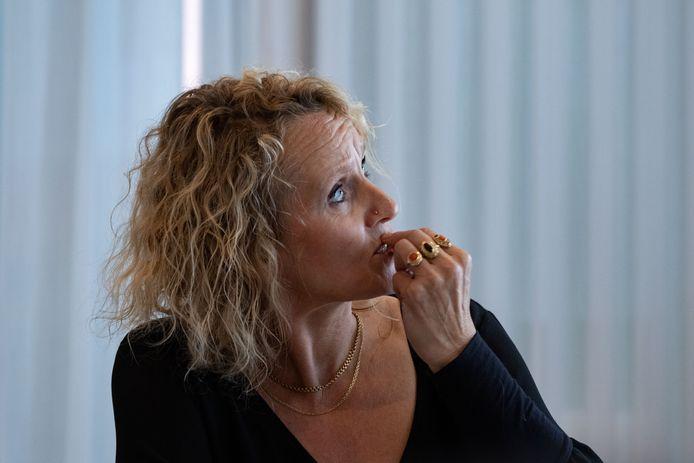Werkgroep Hoogspanning nodigde provinciale politici uit voor een indringend gesprek over bovengrondse elektriciteitskabels die over enkele huizen in 's-Heerenbroek lopen. Simone Ebbers praatte de politici bij over deze zich al jaren voortslepende kwestie.