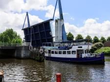 Koppelbrug één keer geopend voor scheepvaart