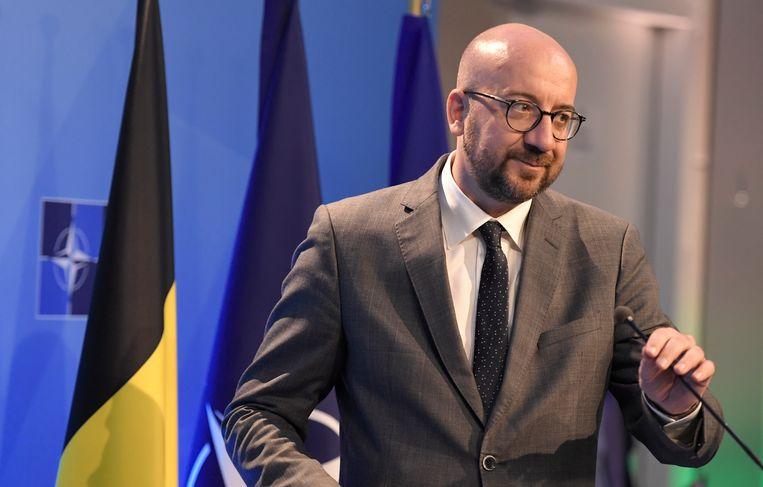 Premier Charles Michel hoopt een arbeidsmarktdeal die naam waardig te smeden. Beeld EPA