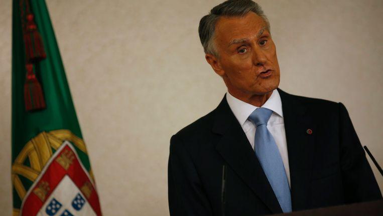 President Anibal Cavaco Silva Beeld REUTERS