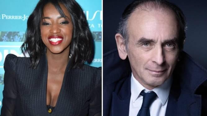 La chroniqueuse Hapsatou Sy quitte le groupe Canal+, l'accusant de soutenir Zemmour
