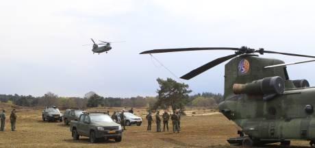 Chinook-helikopter maakt noodlanding op Veluwe: 'Alsof het gele lampje van je auto gaat branden'