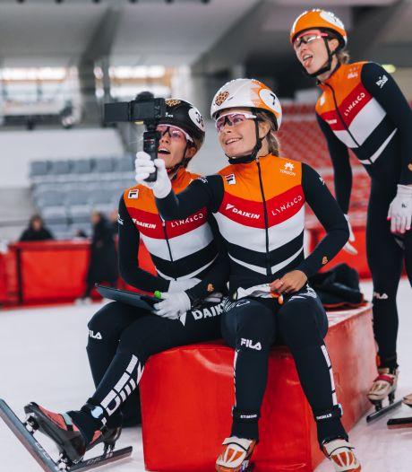 Shorttrackster Yara van Kerkhof vlogt voor kinderen met een hartafwijking: 'Zelfs topsport is nog haalbaar'