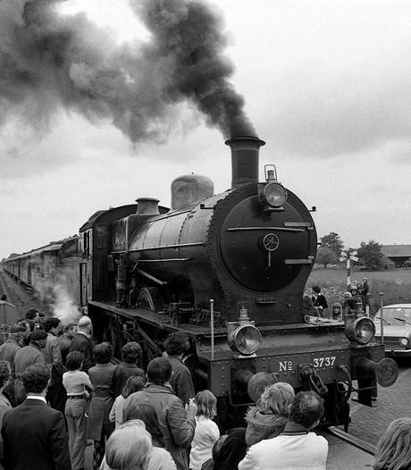 """150 jaar Bels lijntje: """"Het glas van het petroleumlampje rammelde als de trein eraan kwam"""""""