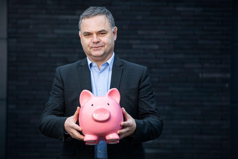 Pascal Paepen: 'China verwacht dit jaar een economische groei van 8 procent. Daar moet je zijn!' Beeld STEVEN RICHARDSON