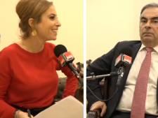 """""""La malle, pas la malle?"""": Léa Salamé critiquée après son interview de Carlos Ghosn"""