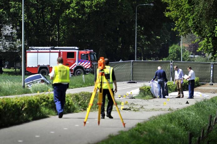 Technisch onderzoek na het dodelijk ongeval in Meijel