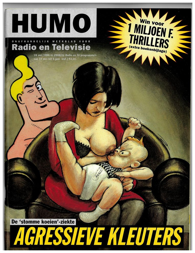 Humo cover mei 1996 Beeld Humo