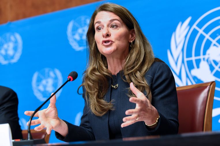 Melinda Gates staat mee aan het hoofd van de grootste liefdadigheidsorganisatie ter wereld, de Bill & Melinda Gates Foundation. Beeld AFP