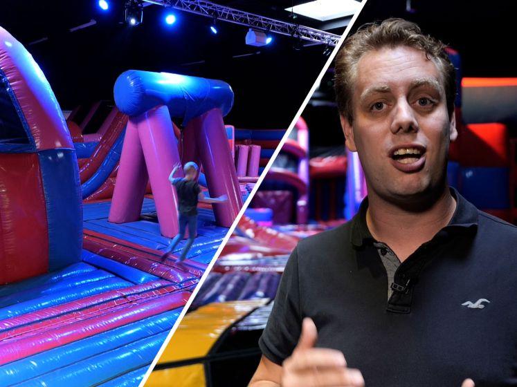 Speelparadijs opent eindelijk deuren in Breda: '1000 vierkante meter aan springplezier'