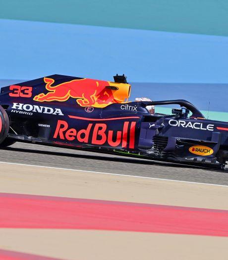 Verstappen niet productief, maar wel de snelste in eerste training Bahrein