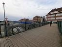 De noodbrug naast de Bospoortbrug werd in 2011 door het Belgisch leger geplaatst.
