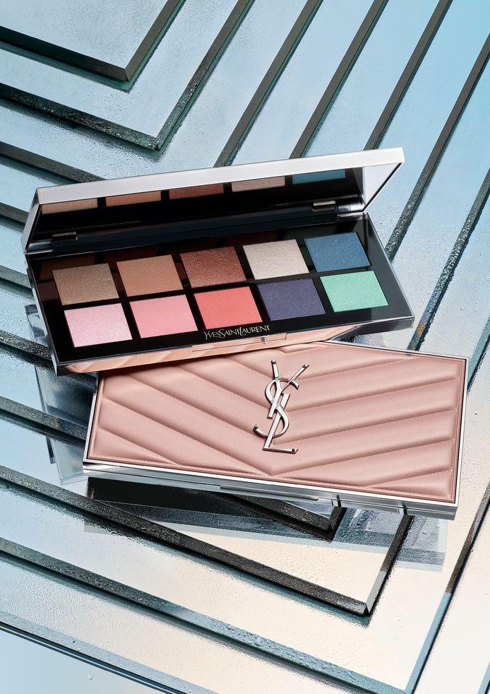 Dix teintes pop et ensoleillées dans la palette Poppin Fresh de Yves Saint Laurent.