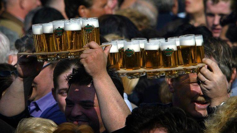 Bier op 't Vrijthof in Maastricht Beeld ANP