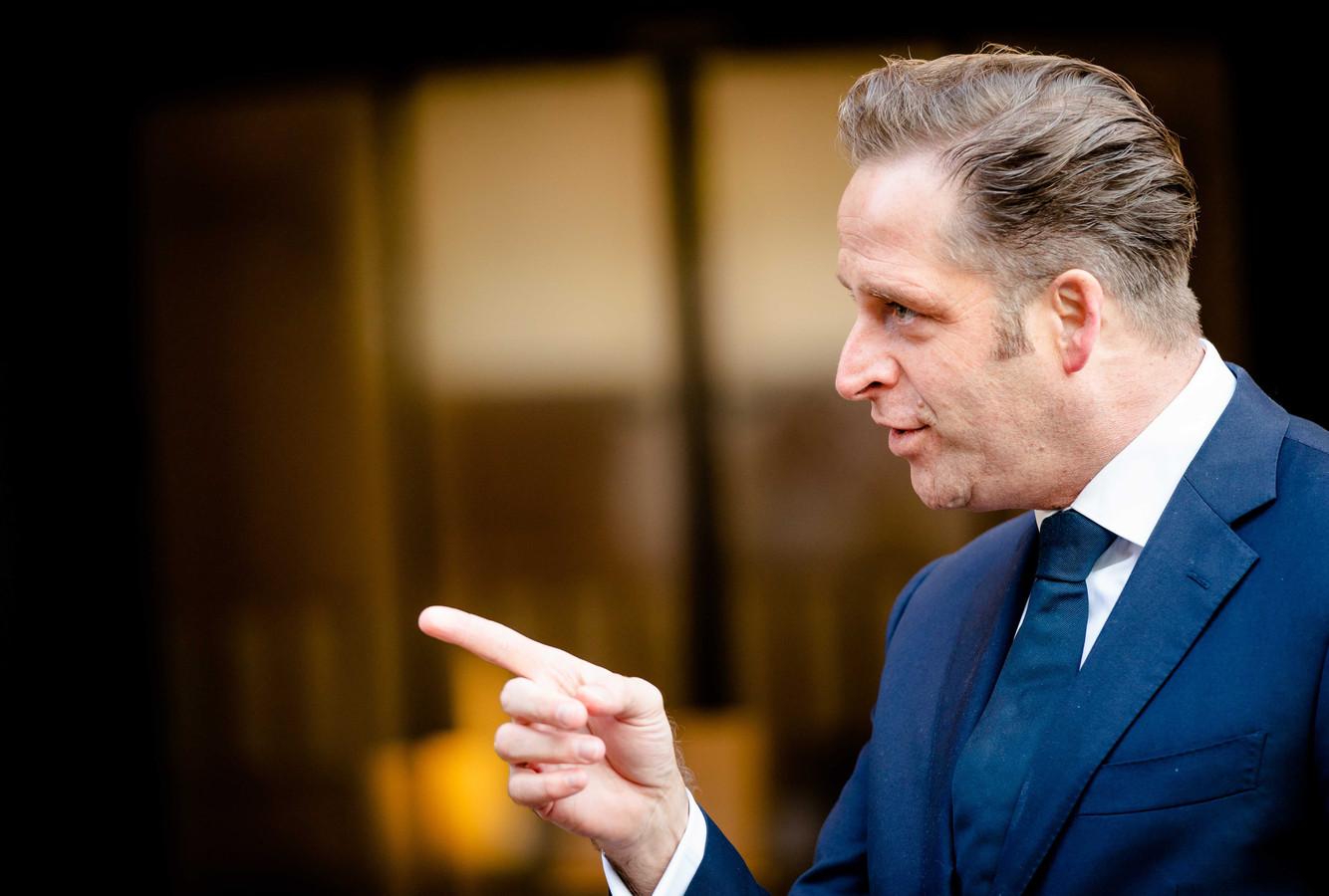 Demissionair Minister Hugo de Jonge van Volksgezondheid