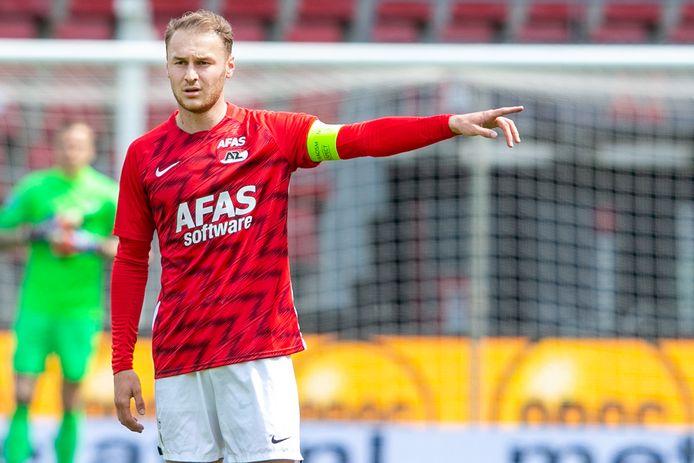 Teun Koopmeiners.   during the match AZ - Heracles